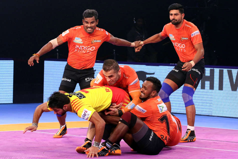 Pkl U Mumba Beat Gujarat Fortunegiants