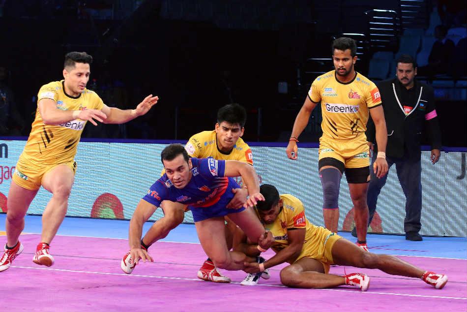 Pkl Dabang Delhi Outshine Telugu Titans