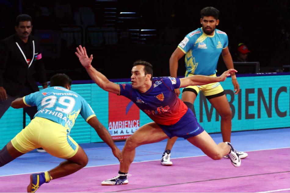 Pkl Dabang Delhi Beat Tamil Thalaivas 37