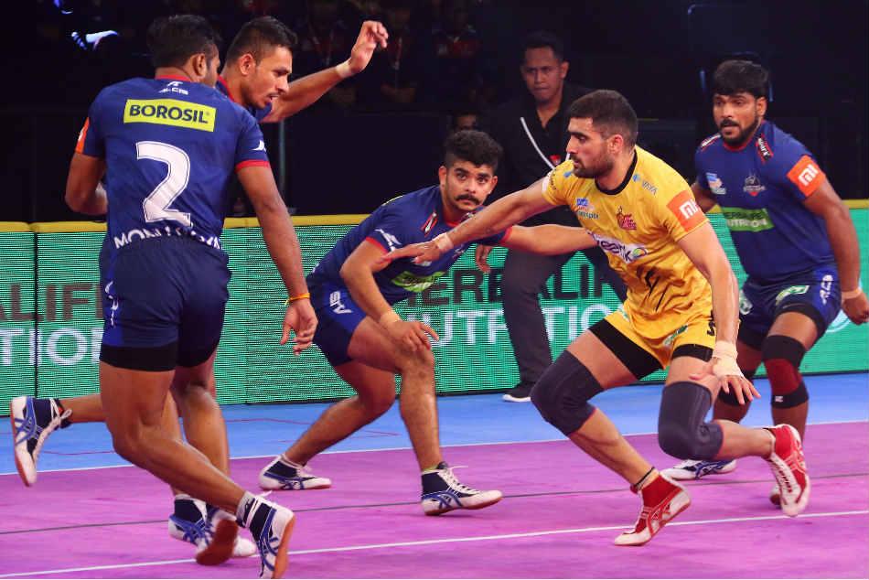 Pkl Telugu Titans Edge Haryana Steelers