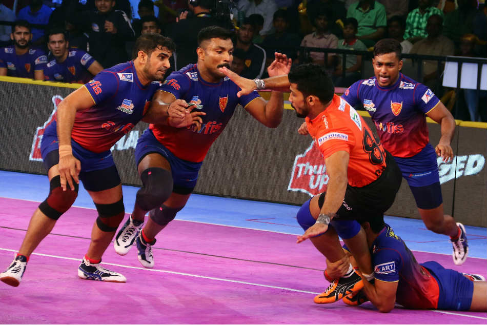 Pkl U Mumba Notch Comfortable Win Over Dabang Delhi