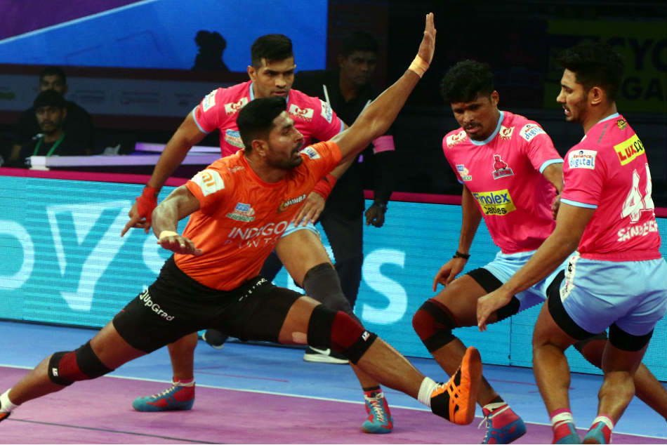 Pkl U Mumba Jaipur Pink Panthers Play A Draw