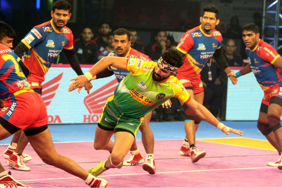 Pkl Up Yoddha Hammer Patna Pirates 47 31