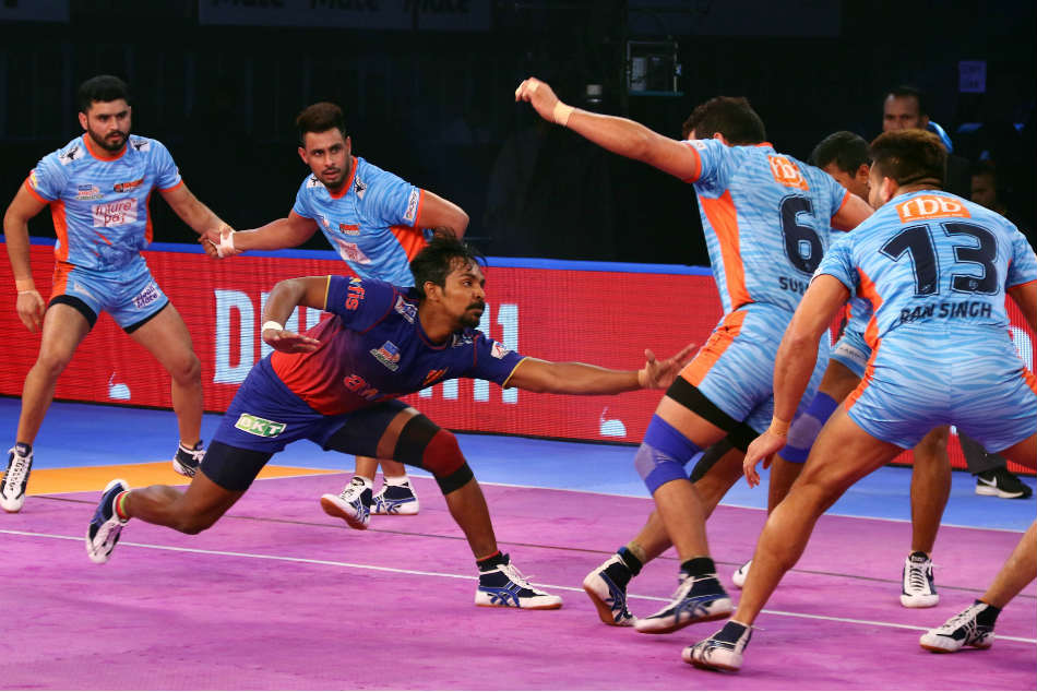 Pkl Dabang Delhi Defeat Bengal Warriors
