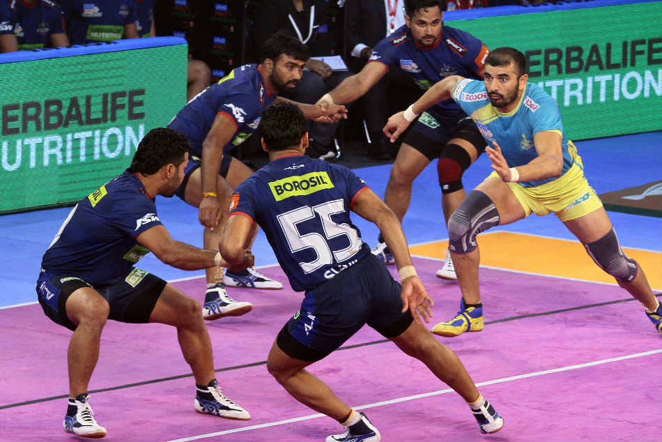 Haryana Steelers Play A Thrilling 40 40 Tie With Tamil Thalaivas