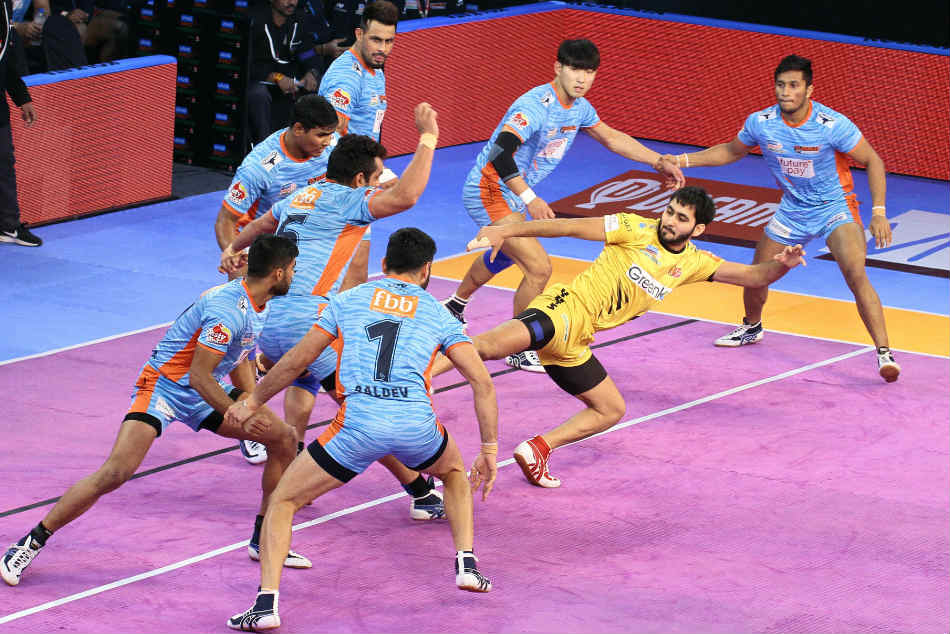 Pkl Bengal Warriors Edge Telugu Titans 39