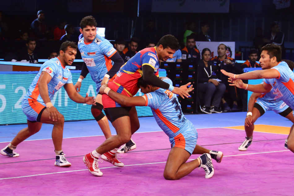 Pkl Up Yoddha Thrash Bengal Warriors