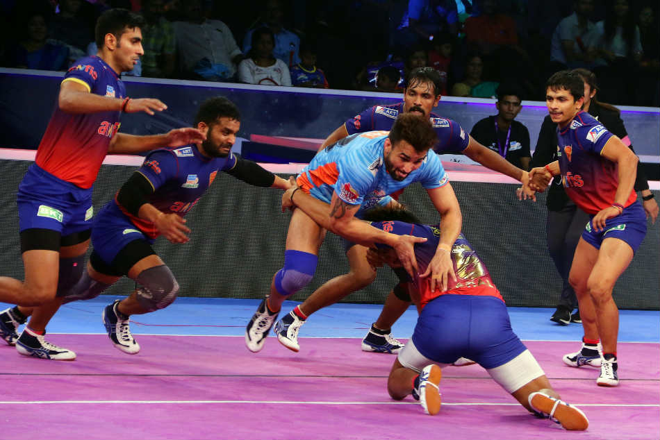 Pkl Dabang Delhi Oust Bengal Warriors