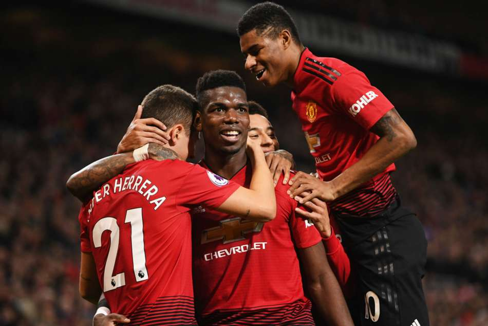 Manchester United 4 Bournemouth 1 Rashford Pogba Star Easy Win