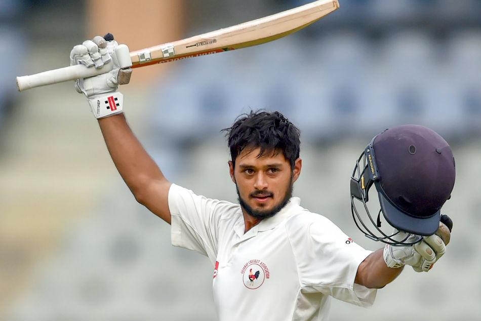 Ranji Trophy Panchal Hits Ton As Gujarat Thrash Mumbai 9 Wickets