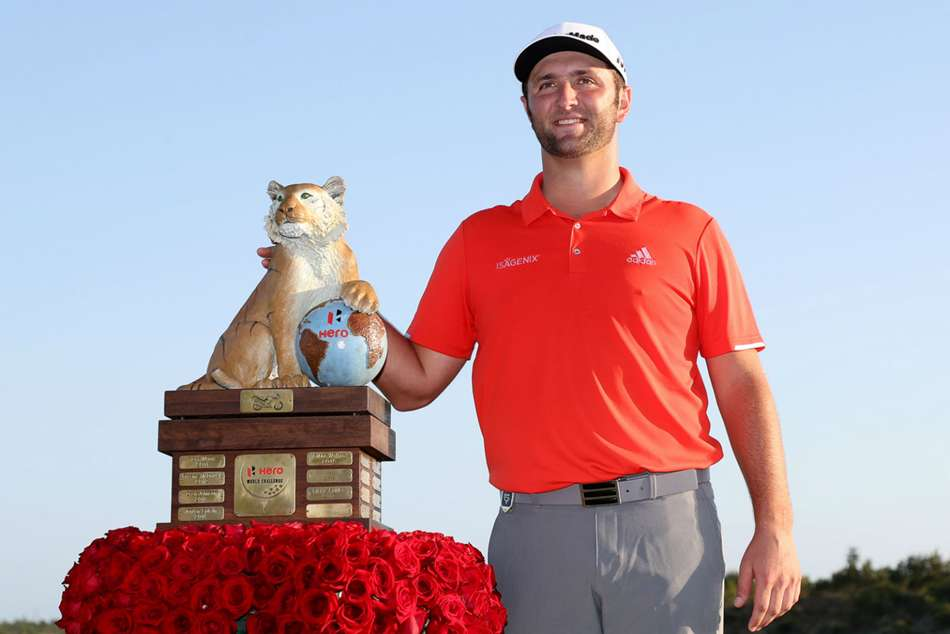 2018 Hero World Challenge winner Jon Rahm