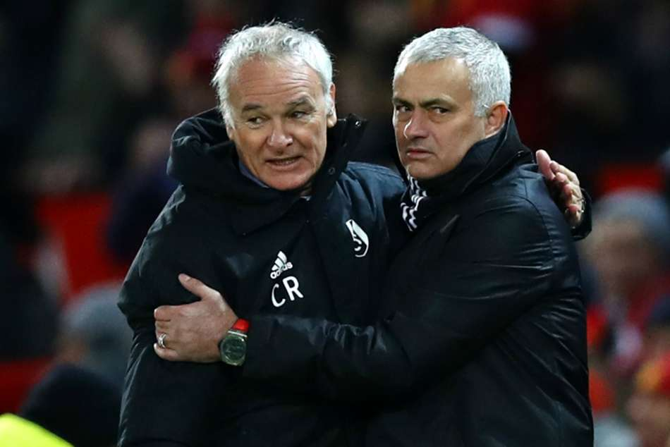 Jose Mourinho Football Ranieri Manchester United