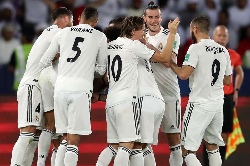 Cristiano Ronaldo Thibaut Courtois Real Madrid