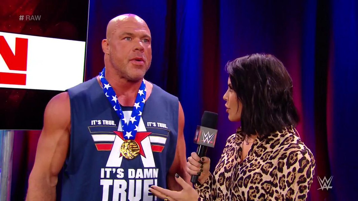 Revealed Next Opponent For Kurt Angle After Comeback On Wwe Raw