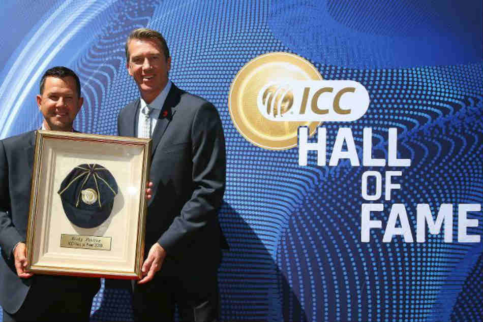 Ricky Ponting Inducted Into Icc Hall Of Fame