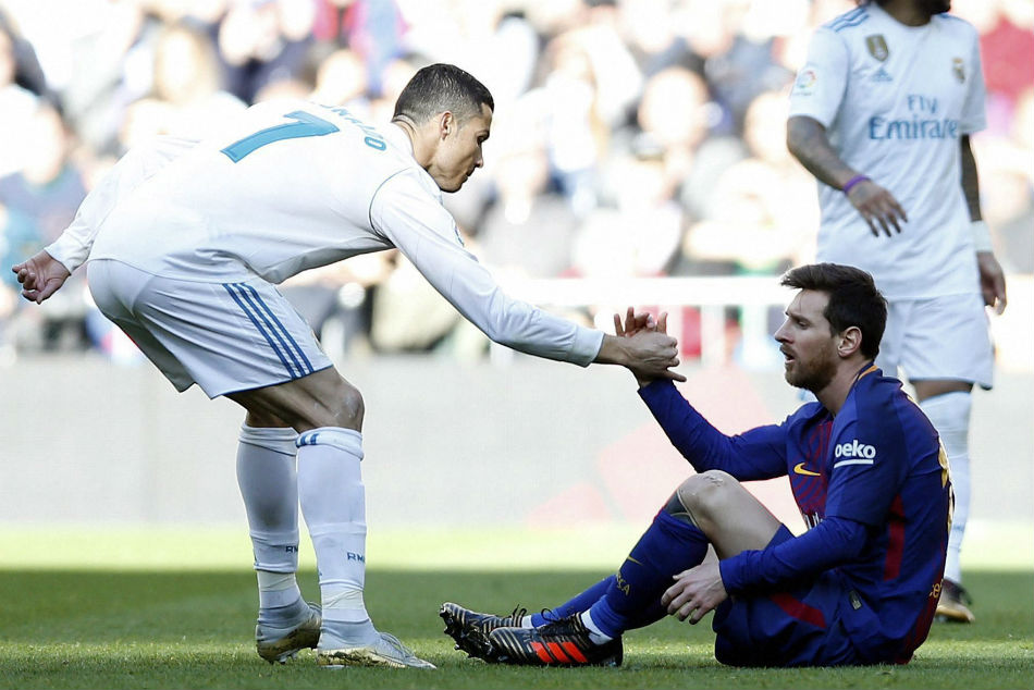 Ronaldo Throws Down The Gauntlet Messi