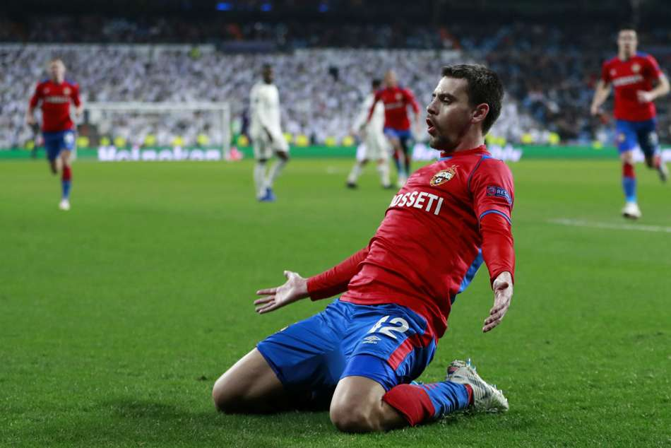 Real Madrid 0 Cska Moscow 3 Champions Humiliated At Bernabeu