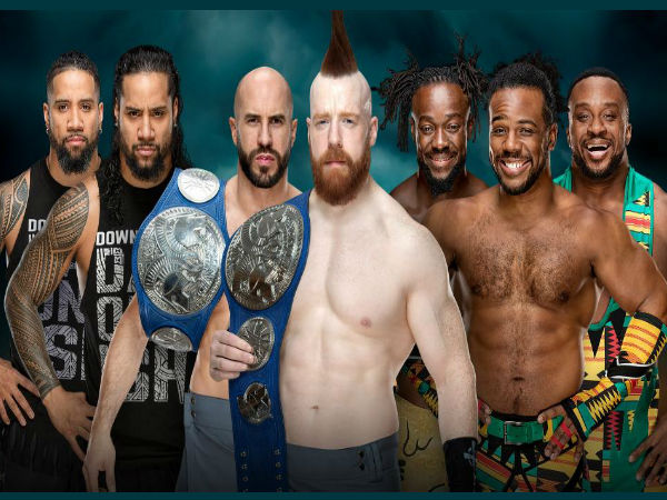 The Bar (c) vs. The Usos vs. New Day