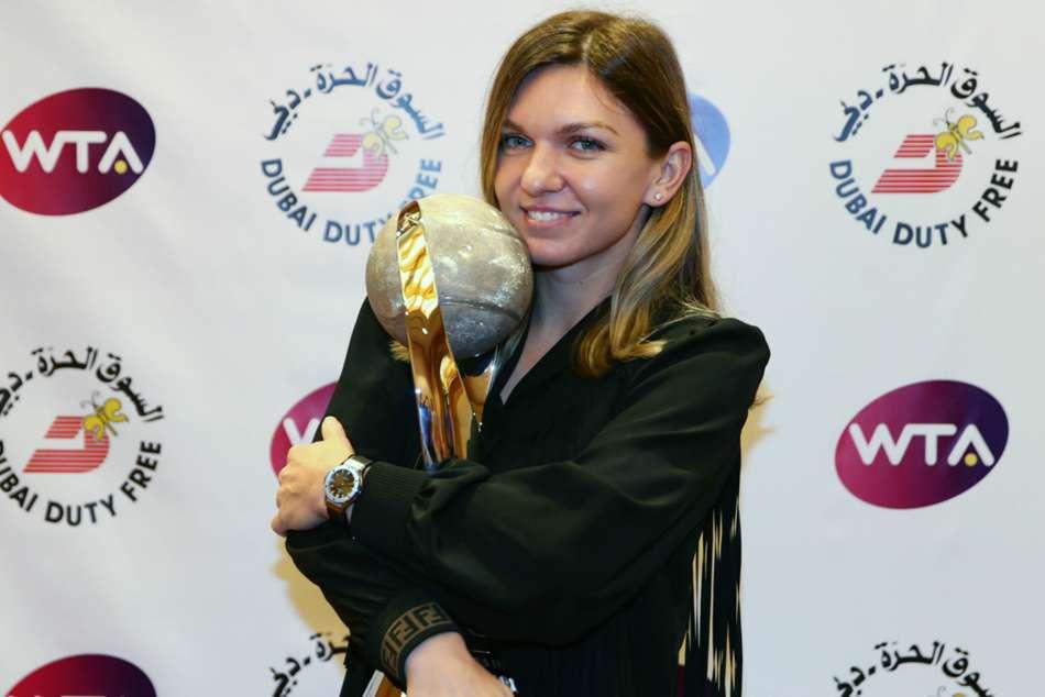 Simona Halep Wta Tour Sydney International