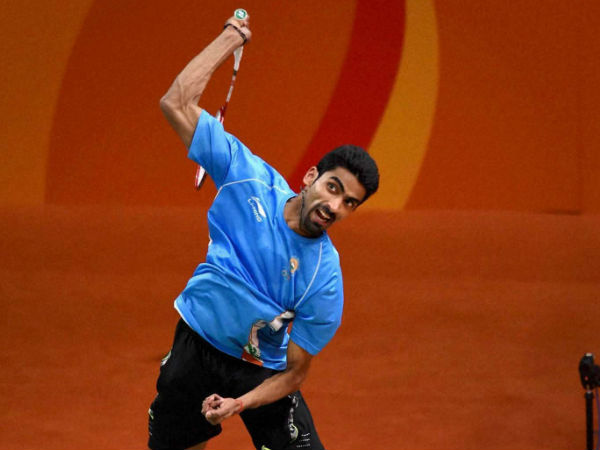 B Sumeeth Reddy (Men's Doubles / Mixed Doubles)