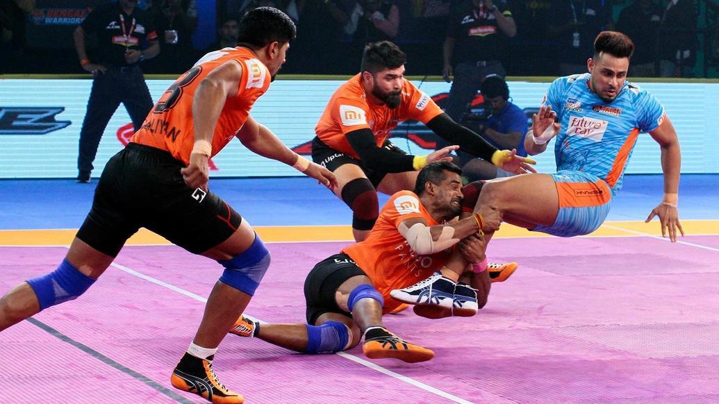 Pkl 2018 U Mumba Beat Bengal Warriors
