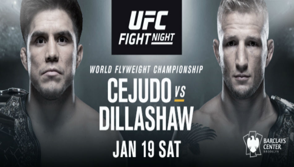 Cejudo vs Dillashaw set for 2019 curtain raiser
