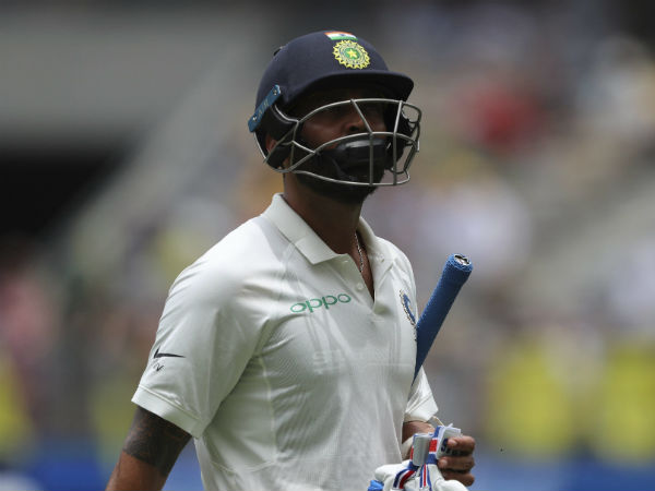 4. On M Vijay's lack of runs