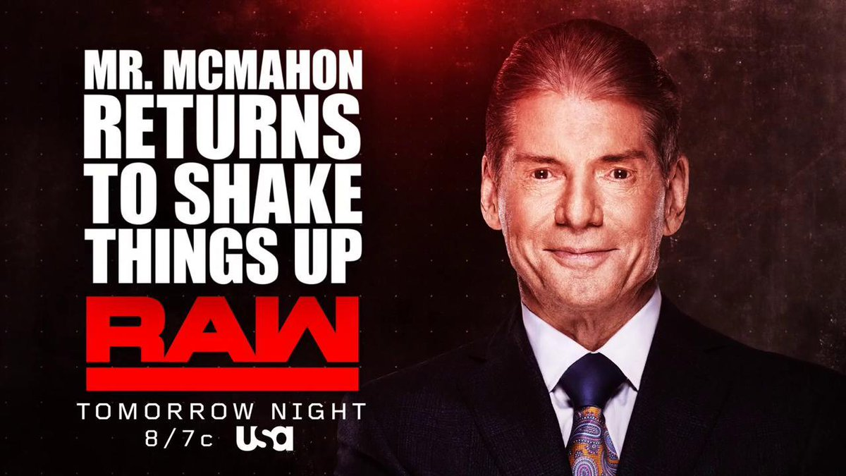 Rumour Vince Mcmahon To Change Direction Of Wwe Programming