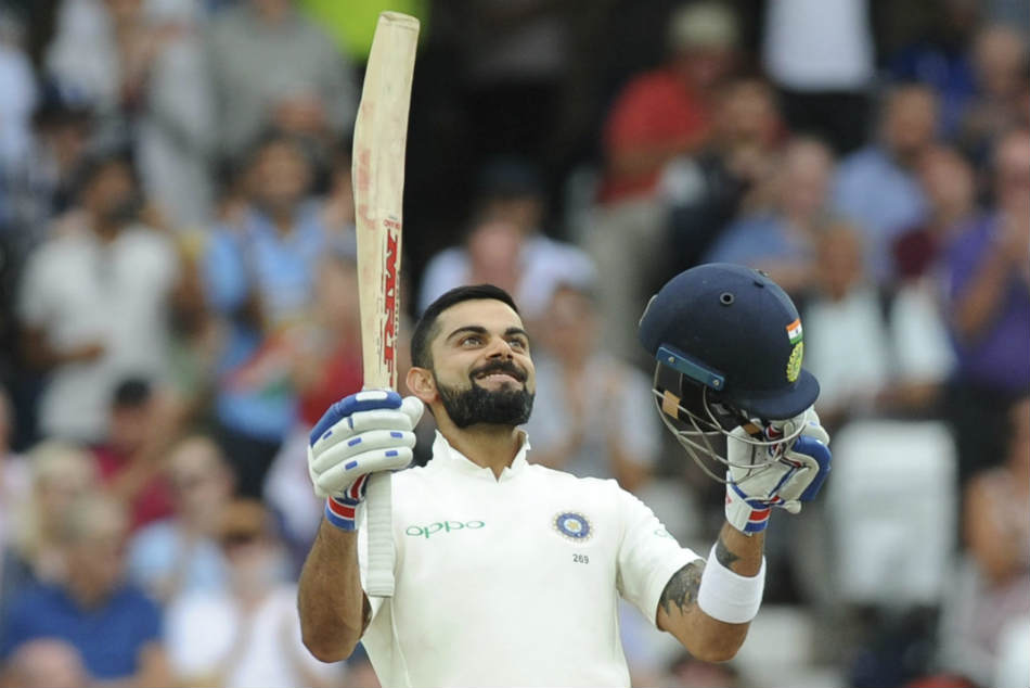 Virat Kohli led Indias fight with a gritty unbeaten 81