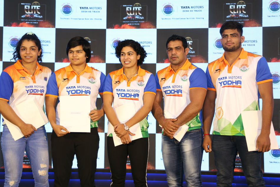 Tata Motors will continue supporting Indian wrestlers
