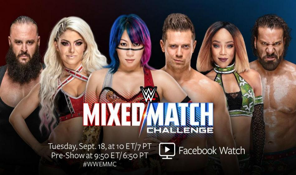 Wwe Accidentally Reveal Winners Mixed Match Challenge Ii