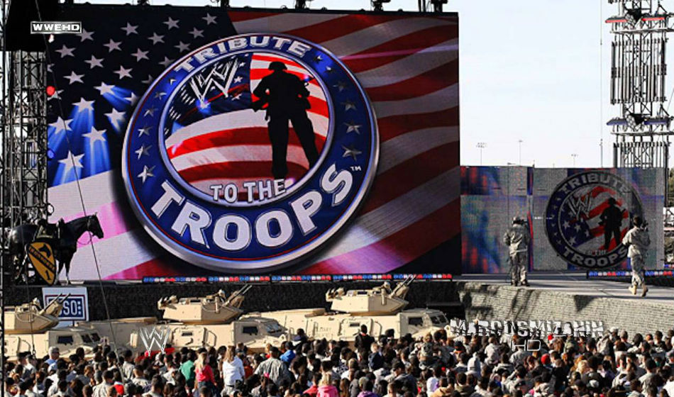 Huge Announcements For Wwe Tribute To The Troops
