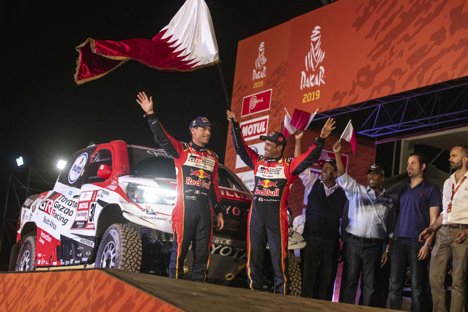 Al Attiyah Wins First Stage Dakar Rally