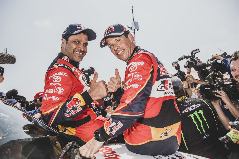 Dakar Rally Al Attiyah Crowned Champion Third Time