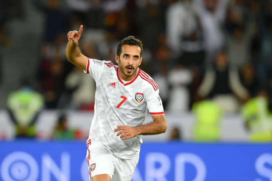 Afc Asian Cup Ali Mabkhout Is The Key Uae