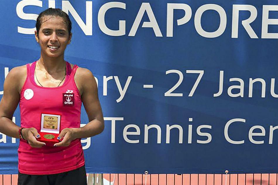 India S Ankita Raina Wins First Singles Title The Year Singa