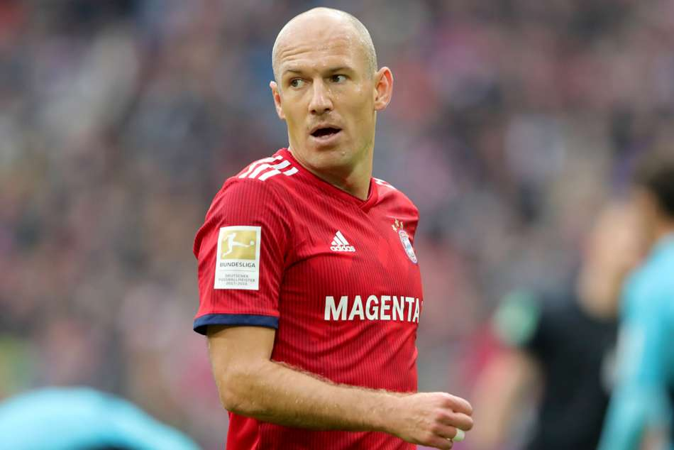 Arjen Robben will end his 10-year association with Bayern when he departs at seasons end