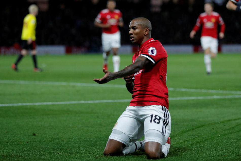Ashley Young is free to talk to clubs abroad
