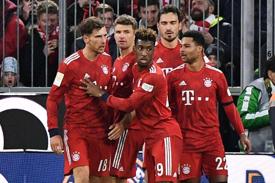 Bayern Munich 4 Stuttgart 1 Kovac S Men Clinch Seventh Win In Row