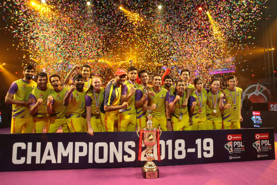 PBL 2018: Dominant Bengaluru Raptors beat spirited Mumbai Rockets to lift maiden title