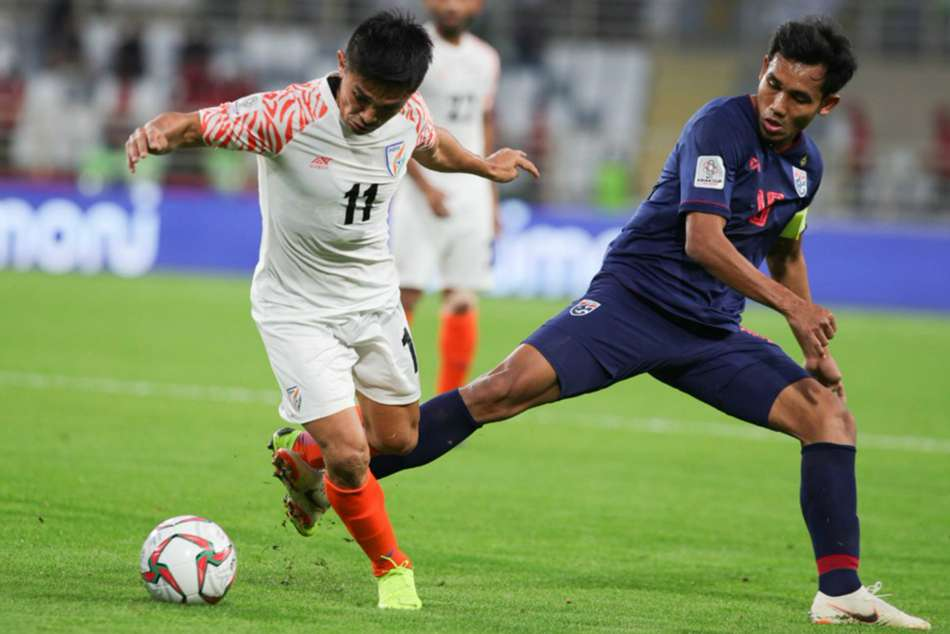 Afc Asian Cup 2019 India 4 Thailand 1 Chhetri The Hero As Constantine S Men Go Top Of Group A