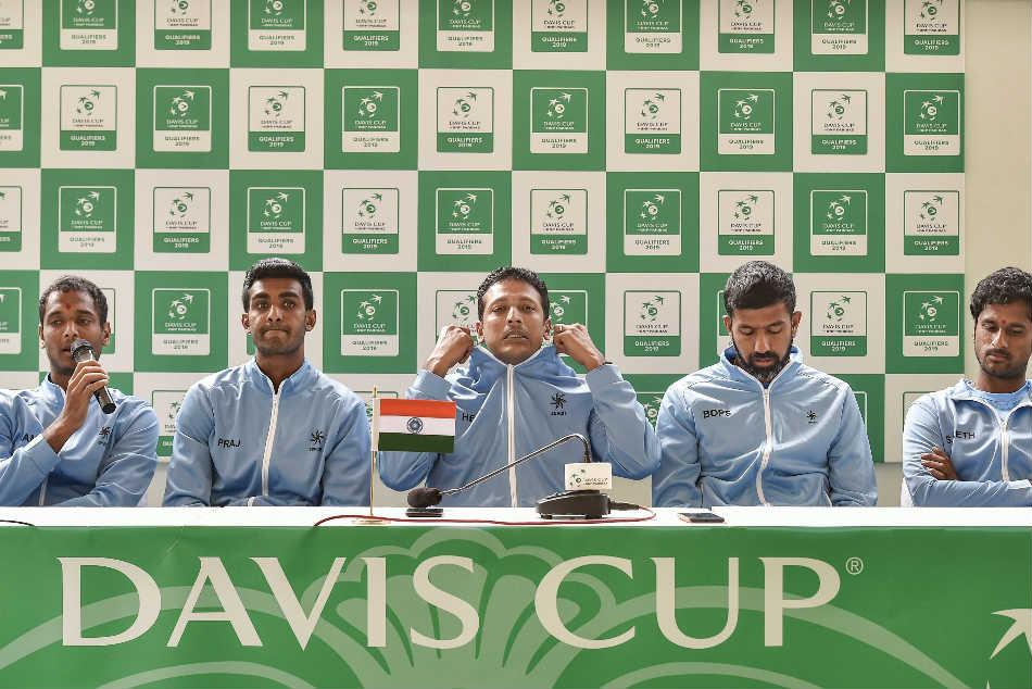 India Bank On Prajnesh Csc Grass Courts Upset Italy Davis Cup