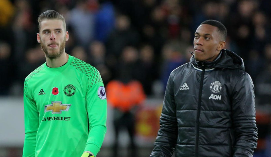Manchester United Contract Extensions Anthony Martia David De Gea