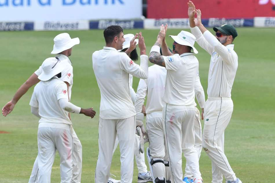 Duanne Olivier Hashim Amla South Africa On Top Third Test Pakistan