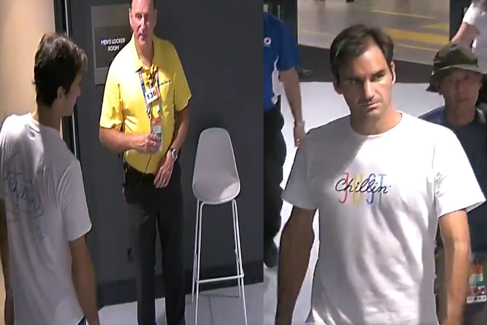 Australian Open Sachin Tendulkar Hails Security Guard Stopping Roger Federer Enter Locker Room
