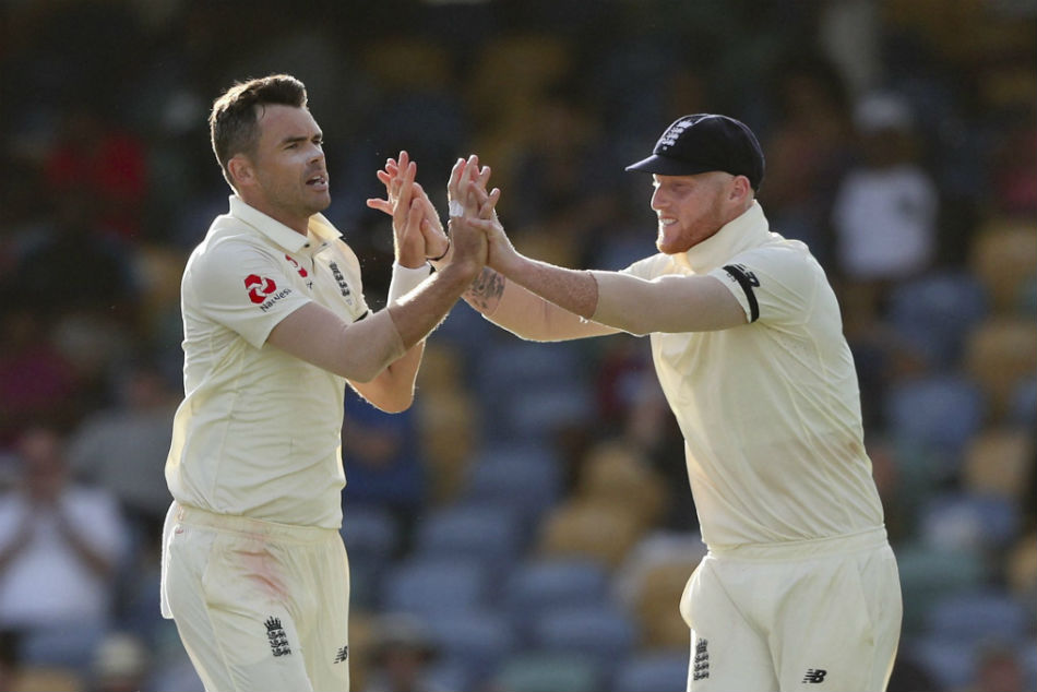 West Indies Vs England 1st Test Day 1 Report James Anderson
