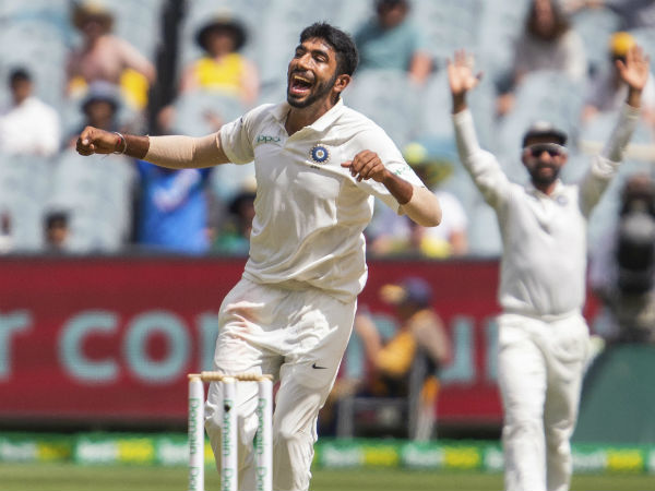 4. On Jasprit Bumrah
