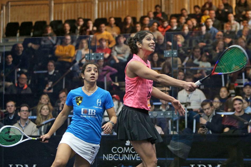 Joshna Chinappa Crashes Of Tournament Champions