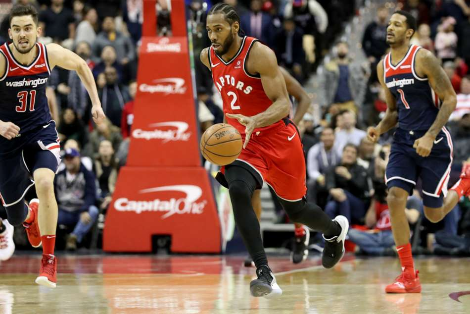 Nba Wrap Score Results Highlights Video Kawhi Leonard Scores 41 As Raptors Top Wizards Double Overtime