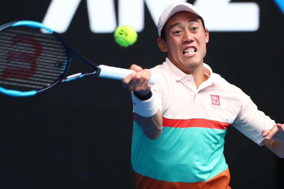 Kei Nishikori Ivo Karlovic Australian Open